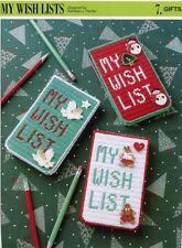 My Wish Lists Annie's NEW Plastic Canvas PATTERN/INSTRUCTIONS 10 Mesh