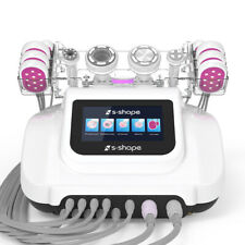 S-SHAPE Ultrasound Cavitation Suction&RF Vacuum EMS LED Laser Fat Remove Machine