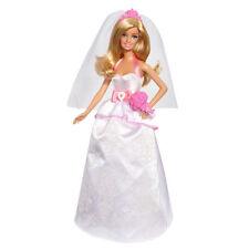 Barbie Cuento De Hadas Magia muñeca de novia Boda Real (BCP33)