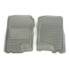 Front All Terrain Floor Liner 2015-2018 Ford F-150 // Raptor // Extended // Super Crew Cab Rugged Ridge 84902.33 Gray