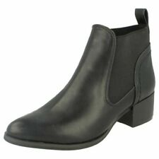 Ladies Spot On Casual - Ankle Boots