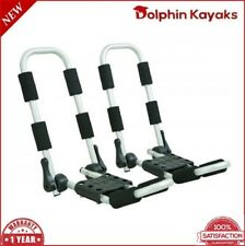 Kayak Canoe Folding Carrier Twin Double Universal Roof Rack J-Bar New Max 150kg