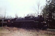 35mm Orig Slide SCX RR #614 Class J3a 4-8-4 Lima Hamilton Family Lines Railroad