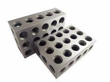 2-4-6 Blocks Matched Pair (2 ea) Precision Ground Machinist Set Up Blocks TTW246