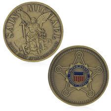 Saint Michael United States Secret Service Commemorative Challenge Coin Art Gift
