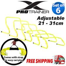 2 PCS Hurdles Adjustable Agility Training Hurdle Sport Soccer Football Speed