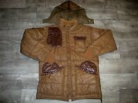 Vintage Bob Allen Hunting Shooting Puffer Puffy Jacket Coat Quilted Men's Large