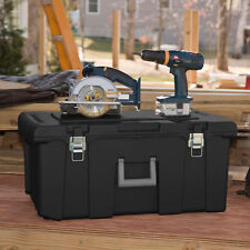 Storage Footlocker Trunk Wheeled Garage Tool Box College Container Airline Chest