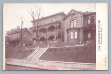 "Tschopik House—Chattanooga TN ""In Winter"" Rare Antique—Macgowan-Cooke 1910s"