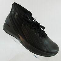 Under Armour Lockdown 3 Basketball Shoes Black 3020622-001 Men's Size 8.5
