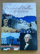 Presidential Dollars Collector's Folder NEW