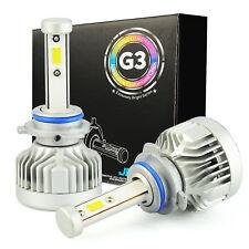 JDM ASTAR G3 8000LM 72W 2x 9005/HB3 CSP LED Headlight High Beam Bulb Xenon White