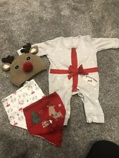 baby boy outfit Christmas 0-3 Months