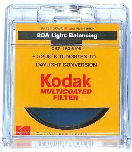 52mm Japan 80A 80-A Multi-Coated MC Light Balancing Blue Glass Lens Filter 52 mm