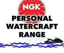NGK SPARK PLUG For PWC / JET SKI KAWASAKI 1200cc JH 1200 Ultra 150 00->