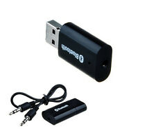 USB Bluetooth Audio Music Streaming Receiver Adapter with 3.5 mm Jack Connector