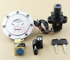 Ignition Switch Lock Gas Cap Set Lock Key for Honda CB400 (CB400SF) 1992-1998