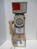Western Electric 233G Rose Beige Payphone 3 slot payphone