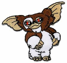 "Gremlins Movie GIZMO Character 3 1/4"" Wide embroidered Iron/Sew On Patch"