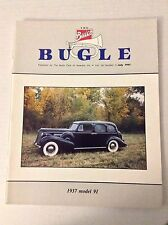 Buick Bugle Magazine 1937 Model 91 July 1991 032217NONRH