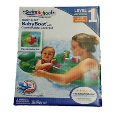 Level 1 Inflatable Baby Boat Swim School  6 - 18 Months Baby Me Water Float