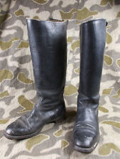 WW2 VTG GERMAN WEHRMACHT LUFTWAFFE OFFICERS JACK BOOTS W/HARD SHAFT - HEEL IRONS
