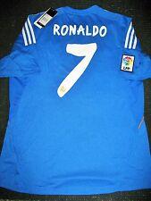 Authentic Real Madrid Ronaldo Blue 2014 2015 Jersey Camiseta Shirt Size L NEW!!