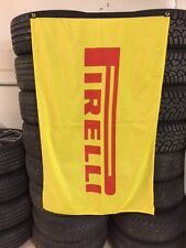 PIRELLI Banner Flag ~ Dealer Racing Tires Moto GP IMSA Advert World Challange
