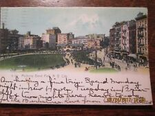 OLD POSTCARD - MULBERRY BEND PARK,  N. Y. CITY POSTMARKED 1910. EXCELLENT COND.