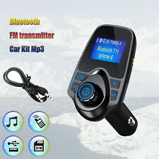 Universal Bluetooth Car MP3 Player FM Transmitter Wireless Radio Adapter From KY