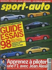 SPORT AUTO n°428 09/1997* GUIDE ESSAIS 1998 MAC LAREN F1 FERRARI 456 406 coupé
