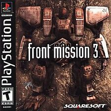 Front Mission 3 for Sony PlayStation 1 - Brand New