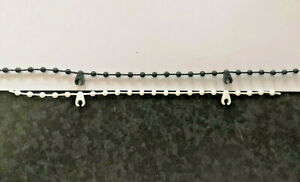 """10 METRES OF TOP QUALITY 89MM (3.5"""") VERTICAL BLIND BOTTOM CHAIN PARTS/ SPARES"""