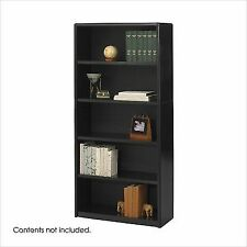 Safco 5 Shelf Value Mate Economy Bookcase 7173bl