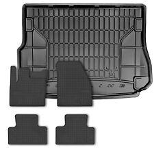 J/&J AUTOMOTIVE Vasca Baule Compatibile con Land Rover EVOGUE 2011 Tappetino per Bagagliaio in Gomma Premium