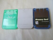 Playstation Memory Card PS Unbranded