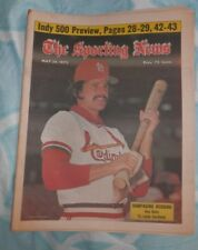 May 24th 1975 THE SPORTING NEWS Ken Reitz St. Louis Cardinals