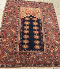 New listing An Early Antique Turkish Prayer Rug,Collector Item Circa 1825- 1850