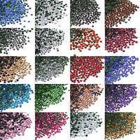 1440pcs SS6 (1.8-2.0mm) DMC Iron On Hot fix Crystal Rhinestones Many Colors