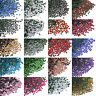 1440pcs SS6 (1.8-2.0mm) DMC Iron On Hot fix Crystal Rhinestones Many Colors