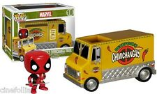 Chimichanga Truck With Deadpool Pop! rides Marvel Funko vinyl figure n° 10