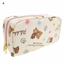 Rilakkuma & Koguma Chan Cosmetic / Makeup Pouch / Pencil Case Kawaii San-X Japan