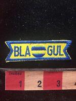 Vtg BLA GUL Advertising Patch C761
