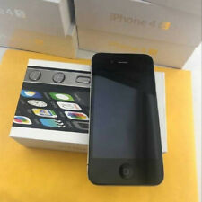Apple iPhone 4s - iOS6.1.3 - 3G WIFI Black Smartphone-8G/16G/32G/64GB🔥
