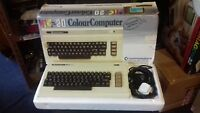 RARE VINTAGE COMMODORE VIC 20 COMPUTER SYSTEM (GC BOXED w CARTS)