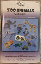 Zoo Animals Quilling Kit by Quilled Creations #402 New