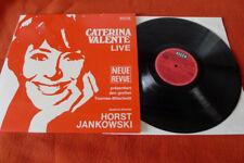 Caterina Valente...LP...LIVE  mit horst jankowski
