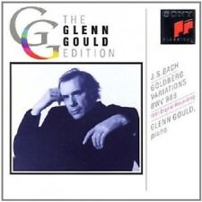 GLENN GOULD - GOLDBERG-VARIATIONEN BWV 988 (1981 DIGITAL)  CD 32 TRACKS BACH NEW
