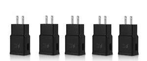 5x Adaptive Fast Rapid 2A Wall Plug Charger For Samsung LG Android Apple iPhone