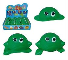 12 SPLAT FROG TOYS silly novelty squishy frogs toy NEW party favors balls NV876